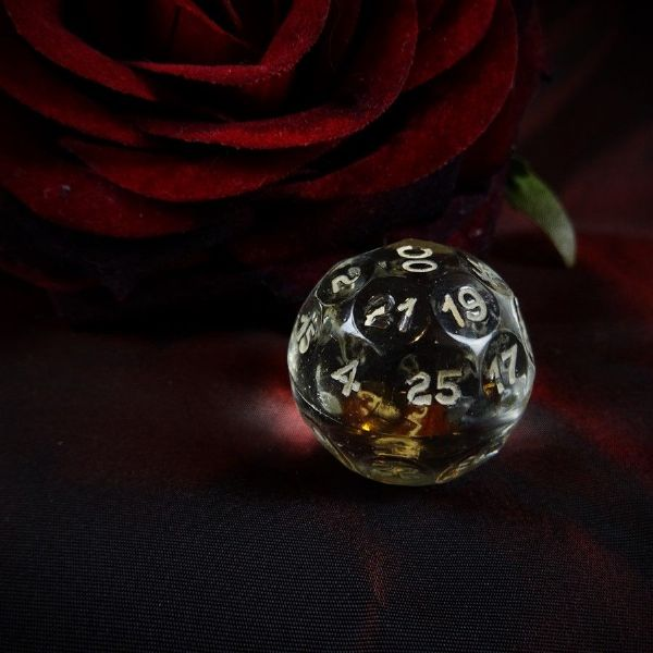 Czech Crystal 32 Sided Fortune Telling Ball 3cm